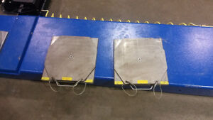 STAINLESS STEEL ALIGNMENT TURN PLATES