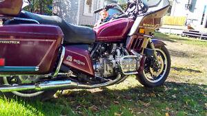 Moto honda 1100cc fonctionnelle !