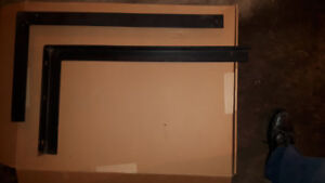 """""""L"""" Bracket for Air Condition or use for large shelf 30 x 16 in"""