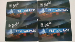 BLUESFEST Passes Tickets for Rent  ALL DAYS AVAILABLE $50-70/day