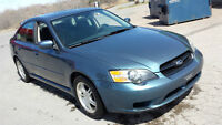2005 Subaru Legacy Sedan AWD, 2 Yr MVI, New Tires