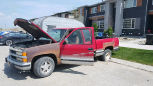94 chev parts truck