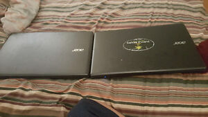 Two laptops for parts