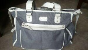 Carter's Diaper Bag in Grey