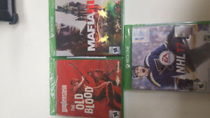 Sealed Xbox 1 Games