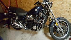 1987 Yamaha maxim x 750