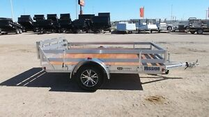2016 Mission Trailers 6.5X10' ALUM. UTILITY