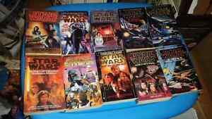 Star wars book lot!