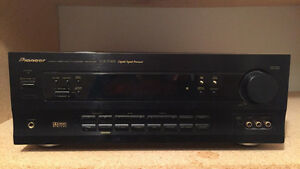 KENWOOD, PIONEER and YAMAHA audio/video surround receiver