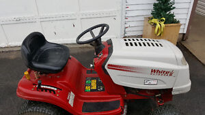 """16hp White Lawn Tractor 38"""" Cut Fully Serviced"""