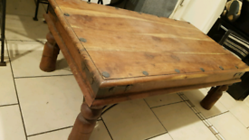 Jali style Solid wood coffee table