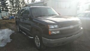 2004 Avalanche for sale
