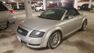 2001 audi tt convertible quattro 225hp