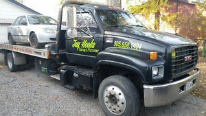 2002 Gmc Flatbed Tow Truck  Price Reduced