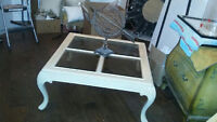 3 piece coffee table set with 2 side tables