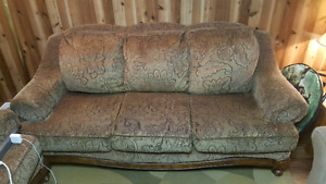 Sofa & matching loveseat for sale