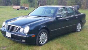 2001 Mercedes-Benz E320 - Priced to Sell - Low Mileage