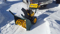 SNOW REMOVAL FLAT RATE 40$$$ !!!!!!