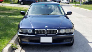 2001 BMW 740il, incredibly clean