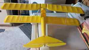 Almost Ready to Fly Tiger Moth RC Plane