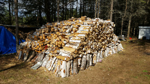 Firewood cut and split