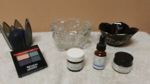 Pictures, crystal, beauty products & more!