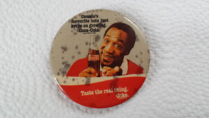 Coke Coca Cola Bill Cosby Vintage Collectible Antique Pin