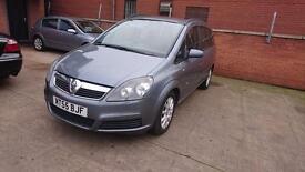 2005 / 55 Vauxhall Zafira 1.9 CDTi Club 5 Door Full MOT+Warranty+Automatic