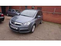 2005 / 55 Vauxhall Zafira 1.9 CDTi Club 5 Door Full MOT+Warranty+Automatic