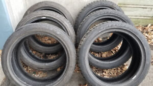 225/45/R18 RunFlat 225-45-R18   Bonne condition/6 Runflat total
