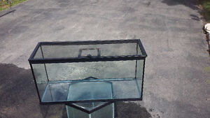 Fish or Reptile tank with cage cover