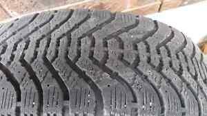 P215/70r15 dodge caravan winter tires Stratford Kitchener Area image 2