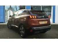 2019 Peugeot 3008 SUV 1.6 PureTech GT Line EAT (s/s) 5dr Auto SUV Petrol Automat