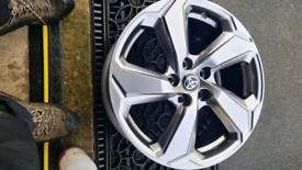 2020 Rav 4 alloy wheels, genuine