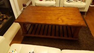 Coffee Table and 2 End Tables (Kincaid  -  Lazboy)