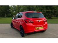 2019 Vauxhall Corsa 1.4i ecoTEC SRi VX Line Nav Black 5dr Hatchback Petrol Manua
