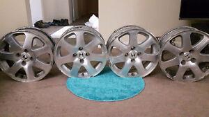 4 rim  3 tires