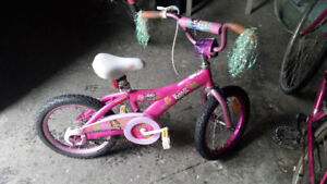 GIRLS BRATZ BIKE $40