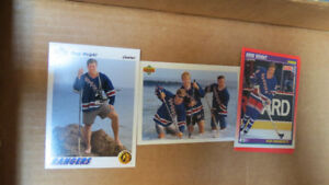 Doug Weight NHL rookie cards(3)+checklist