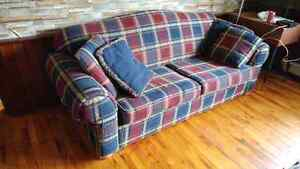 Plaid couch free free free