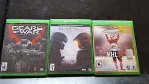 Xbox One Games HALO 5, GEARS OF WAR, NHL 16