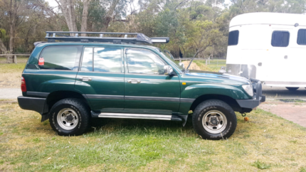 TOYOTA LANDCRUISER GXL 2001 - 4X4 - TOWING - CAMPING - OFFROAD