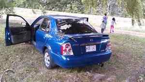 Mazda protégé 2003. 1000$ Négociable