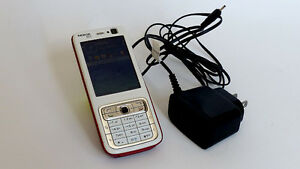 Nokia N73 red + white Unlocked