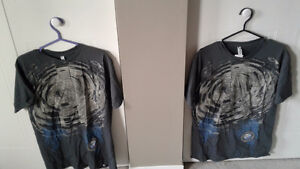 2 New men's t- shirts size medium