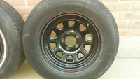 2 GM RWD Rims and tires