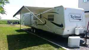 Roulotte rockwood 8318SS 30' 2006