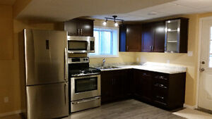 NEW 2 Bdrm Bsmt Suite East Side with In Suite Laundry