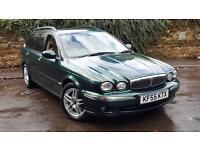 Jaguar X-TYPE 2.2D 2006MY SE. BIG SPEC WITH NAV + FULL LEATHER!
