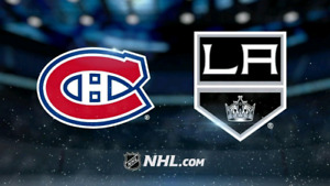 Canadiens vs L.A. Kings opening Game